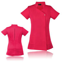 Work hairdressing Spa Nail Salon Beauty Healthcare Therapist Tunic Uniform UK