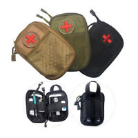 EDC Survival Nylon Molle System Waist Bag Medical Military First Aid Kit Pouch