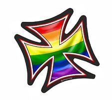 Yes I /'m gay ricamate Pride Heavy Biker Rocker Patch STAFFA immagine tonaca BADGE 1027