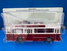 1/43 Collection Berliet N°60 TROLLEYBUS VETRA BERLIET VBH 85 - TCL LYON 1963 Bus