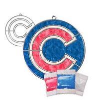 Official MLB Chicago Cubs Makit Bakit Suncatcher Ornament Craft Kit FAST SHIP H1