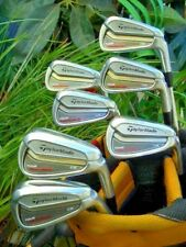 TaylorMade Golf Tour Preferred CB TP Irons Club Set 4-PW KBS Steel Stiff