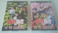 YU YU HAKUSHO - MANGA ANIMATION COFFRET DVD VOLUME 1 & 2 - 8 DVD ÉPISODES 1 A 56
