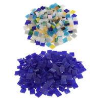 500X multicolore mosaico di vetro piastrelle pezzi per arredamento casa fai