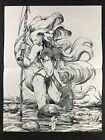 Lady Death - Warrior - By Hughes Chaos! Comics Poster 10x13