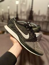 Nike Flyknit Racer Black Volt - UK 10 / US 11