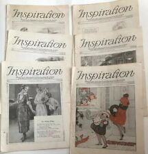 1920's Inspiration Magazine Woman's Institute Vintage Fashion Millinery Lot 6