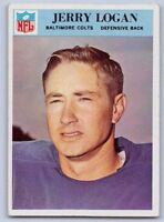 1966  JERRY LOGAN - Philadelphia Football Card - # 17 - BALTIMORE COLTS