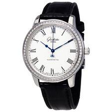 Glashutte Senator Silver Dial Automatic Mens Watch 39-59-01-12-04
