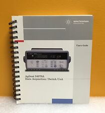 HP / Agilent 34970-90002 34970A Data Acquisiton / Switch Unit User's Guide