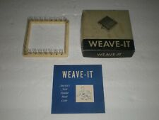 Vintage Weave - It Hand Loom/In Box /Donar Prods.Corp./Osterville,Ma