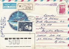 Soviet (USSR) occupied Latvia Registered Airmail Cover from Riga to Canada
