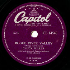 10 inch 78 RPM Record Chuck Miller - Rogue River Valley/ No Baby Like You