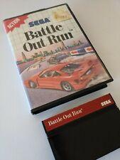 ### SEGA Master System Spiel Battle Out Run OutRun mit OVP Original ###