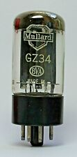 Mullard Old Logo GZ34 5AR4 Valve/Tube New Old Stock f32 (V49)