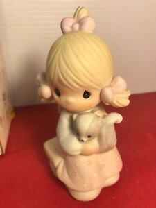 Precious Moments SCENT FROM ABOVE 100528 Girl with Skunk