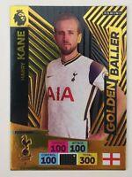 2020/21 PANINI Adrenalyn EPL Soccer Card - Harry Kane Golden Baller Tottenham