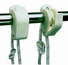 Fender Flutes Pair Tough Plastic Wire or Rail Attachments Adjustable
