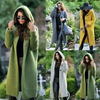 Overcoat Female Coat Women Wool Coat Long Winter Warm Women Jacket Tops
