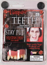 Vampire Adjustable Form Fitting Teeth Dents, Goth, Dracula Cosplay NEW SEALED