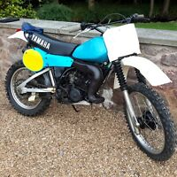 Yamaha IT 175 classic vinduro barn find 1980 classic motorcycle