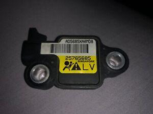 CADILLAC SRX IMPACT SUPPLEMENTAL RESTRAINT SYSTEM SRS AIR BAG SENSOR 25730809
