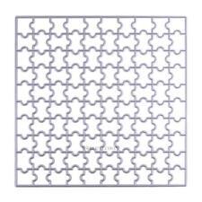 Puzzle Metal Cutting Dies Stencil DIY Scrapbooking Album Paper Card Embossing