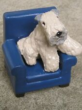 Soft Coated Wheaten Terrier on a CHAIR!