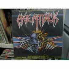 VENOM DEMON SAVAGE HAWKWIND AVENGER NIGHTWING LP AXE ATTACK 1986 BRAZIL NWOBHM