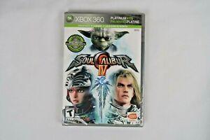 Soul Calibur IV (Microsoft Xbox 360, 2008) **New Free Shipping