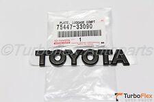 Toyota Camry 2002-2006 Black TOYOTA Trunk Emblem Genuine OEM   75447-33090