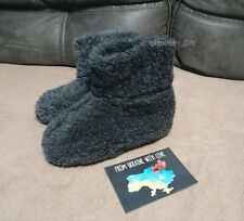 Handmade Sheep Wool Warm Slippers Boots winter House Shoes Christmas gift