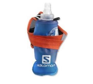 New Size Medium - Salomon Sense Hydro S-Lab Handheld Hydration Set - Red