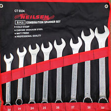 Neilsen Big Combination Spanner Set Wrench 20,21,24,25,26,27,30 & 32mm   0324