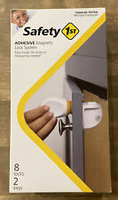 Safety 1ˢᵗ Adhesive Magnetic Lock System, 8 Locks And 2 Keys. New in box. A4