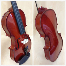 Caraya 3/4 Size Violin+Bow,Rosin,Chin-rest,Spare Strings,Foam Hard Case-Full Kit