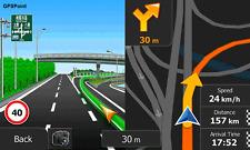 3d software de navegación automóviles igo9-camión con tarjetas principal material 2017