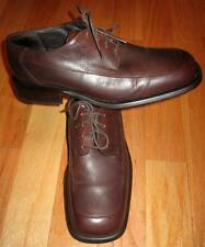 KENNETH COLE NEW YORK POM60682 MEN'S BROWN LEATHER OXFORD DRESS SHOES SIZE 11.5
