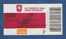 Orig.Ticket  Champions League   2008/09  TWENTE ENSCHEDE - ARSENAL LONDON FC  !!