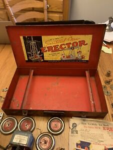 gilbert erector set 7 1/2  Several Photos -sold As Is Based On Pictures