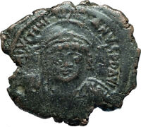 JUSTINIAN I the GREAT 527AD Follis LARGE Authentic Ancient Byzantine Coin i66063