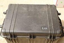 Pelican 1660 Black Hard Case on Wheels NO FOAM Retracting Handle
