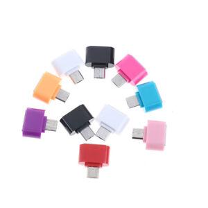 5pcs mini câble de convertisseur adaptateur micro usb otg pour téléphones à oMFU