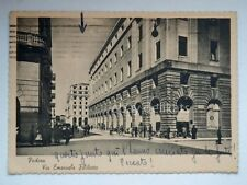 PADOVA Bar Borsa Pizzolotto Via Emanuele Filiberto vecchia cartolina