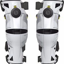 MOBIUS X8 Knee Braces White/Yellow Size XS Pair