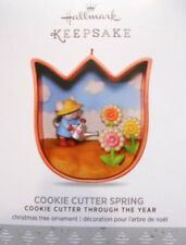 "2017 HALLMARK MOUSE ORNAMENT~ ""COOKIE CUTTER SPRING"" ~  #4 IN SERIES"