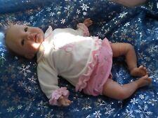 ensemble bloomer coton occasion compatible avec poupée reborn  48cm