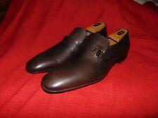 New Salvatore Ferragamo Ornamented Bit Noblesse Brown Calf Loafer Shoe 13 $780 T