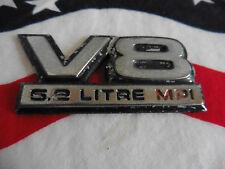 US DODGE V8 5,2 Litre MPI EMBLEM Chrysler SCHRIFTZUG Deko Logo Type Modell USA