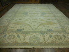 Super Turkish Vg Dy Oushak Chobi Heriz Serapi Tabrizz 9x12 Contemporary Rug
